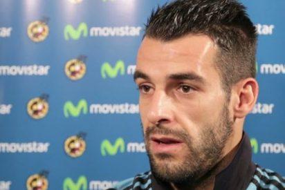 Negredo manda un tweet a los aficionados tras su debut con el Valencia