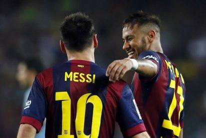 El Barça gana al Eibar con tres goles en la segunda parte de Xavi, Messi y Neymar