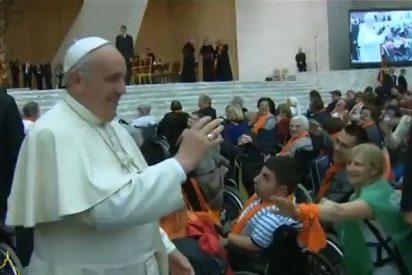 El Papa se encuentra con 7.000 atletas minusválidos