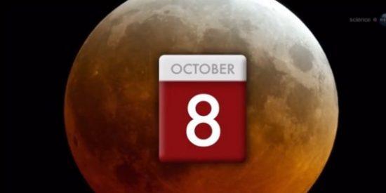 Llega un espectral y extraño eclipse total de luna sangrante: el 8 de octubre es la fecha