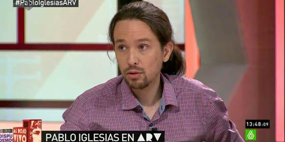 El chavista Pablo Iglesias se niega a pedir la liberación de un líder de la oposición venezolana