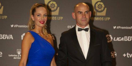 La esposa de Paco Jémez no pasó desapercibida en la gala de los Premios de la Liga