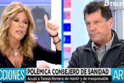 "Alfonso Rojo a Esther Palomera: ""Yo no vengo de mi casa muy pintada a pontificar sobre el ébola"""