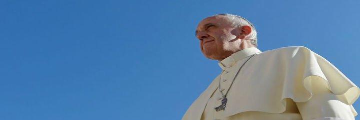"""El Papa Francisco: """"Dios es como un mar sin playas, sin límites, un mar inmenso"""""""