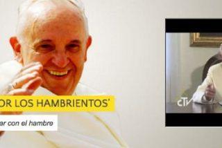 """Francisco: """"Invito a los fieles a que alcen su voz en favor de las personas hambrientas"""""""