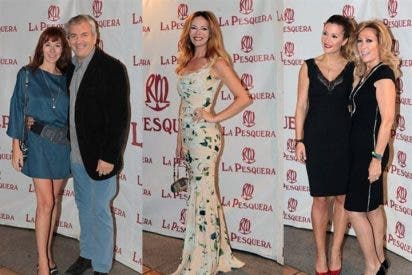 Paula Vázquez, Rosa Benito o Carlos Sobera entre los rostros conocidos en los premios La Pesquera 2014