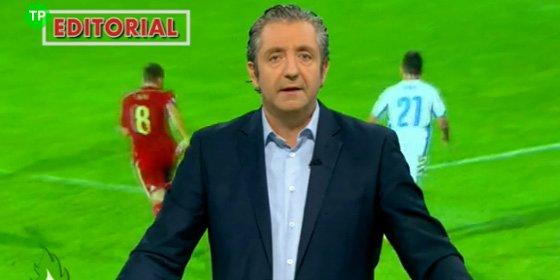 """Pedrerol: """"Del Bosque, concede una entrevista para contar lo malos que somos contigo, pero que te la haga Gabilondo"""""""