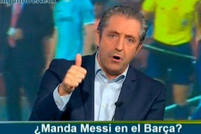 """Josep Pedrerol critica a Luis Enrique por tragar con el 'no' de Messi: """"La reacción de quitar a Neymar es fea"""""""