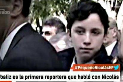 El 'Pequeño' Nicolás ya daba empujones en 'Caiga Quien Caiga' cuando tenía 14 años