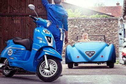 Django, el scooter con más estilo de Peugeot