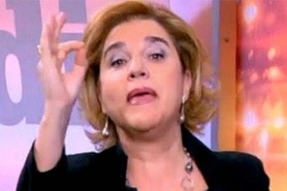 Pilar Rahola, en plena conspiranoia, acusa a 'Madrit' de perseguir a los Pujol