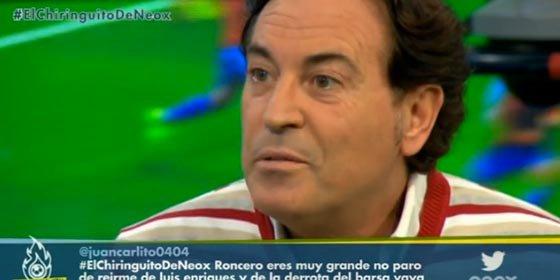 """Pipi Estrada: """"La portería del Barça es una broma"""""""