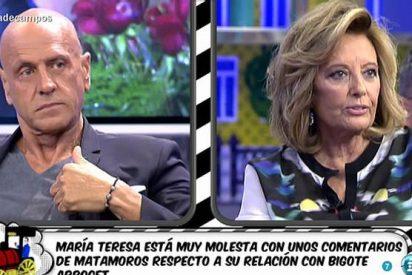 """Mª Teresa Campos, 'desenmascarada' por Kiko Matamoros: """"No tengo por qué aguantar ésto"""""""