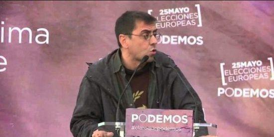 J. C. Monedero sostiene que Podemos aspira a gobernar en Andalucía en solitario