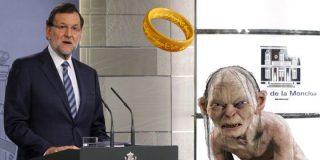 El PSOE presenta a Rajoy como Sauron: