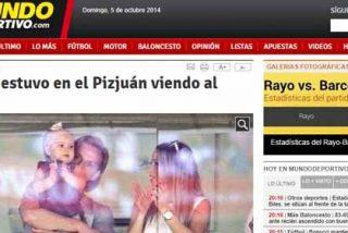 Rakitic acude al palco del Sánchez Pizjuán para animar al Sevilla