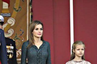Felipe VI preside por primera vez en calidad de Rey de España el desfile militar del 12 de octubre