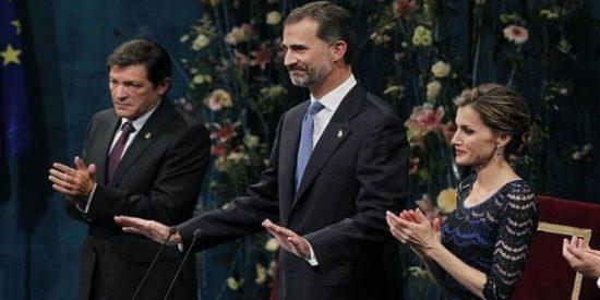 Tirón de orejas de Felipe VI en los Premios Príncipe de Asturias: