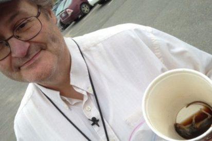 El vídeo del ratón que encontraron en un vaso de café de McDonald's sin decir siquiera esta boca es mía