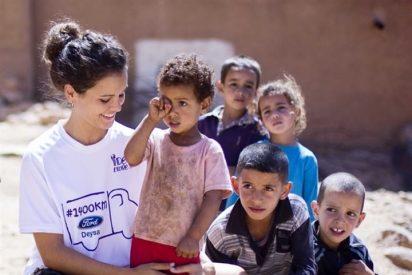 """Sandra Blázquez y su lado más solidario en Marruecos: """"Lo más gratificante es ver la sonrisa de los niños"""""""