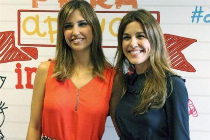 Sandra Sabatés y Raquel Sánchez Silva, las nuevas chicas de la cruz roja
