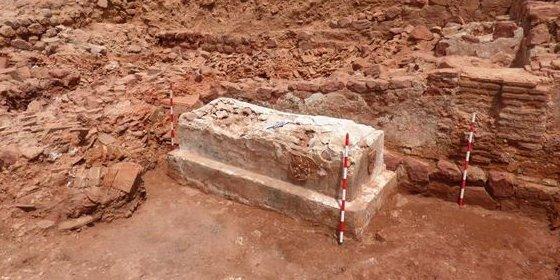 Descubren en Montiel un sarcófago del siglo XIV que coincide con la batalla que tuvo lugar allí en 1369