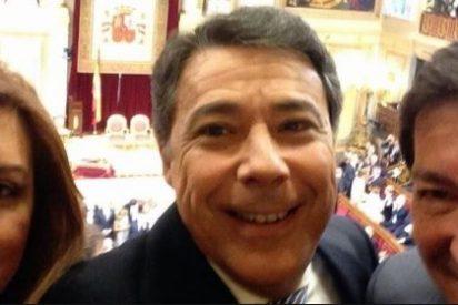 Rostros famosos hacen en Madrid el 'selfie' más grande del mundo