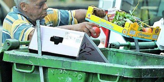 En Sevilla muchos no quieren perder la silla: multas de 750 euros para quienes osen rebuscar en la basura