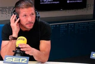 Simeone tranquiliza a la afición en su última entrevista