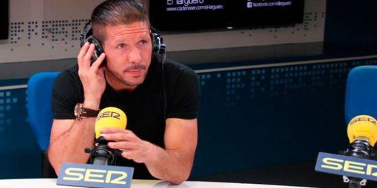 """Simeone, otro que atiza a los Premios de la LFP: """"Que Courtois no ganara el premio fue raro"""""""