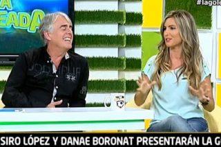 Así fu el estreno de Siro López y de Danae Boronat en 'La Goleada'