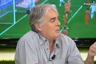 """Bofetada de Siro López a Paco Aguilar (MD): """"En Barcelona ponen el ventilador y a soltar mierda"""""""