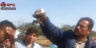 El espeluznante vídeo de la matanza con bombas barril en un campo de refugiados sirio