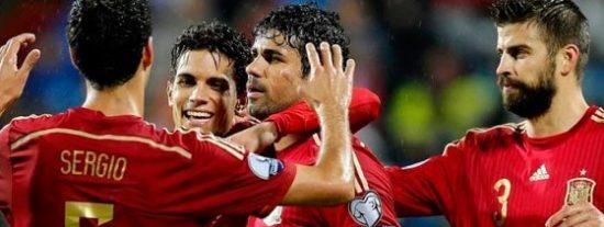 Diego Costa habla tras su primer gol con 'la Roja'