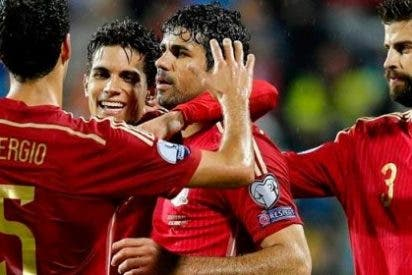 España 'resucita' al tercer día ante Luxemburgo y Diego Costa rompe su sequía (0-4)