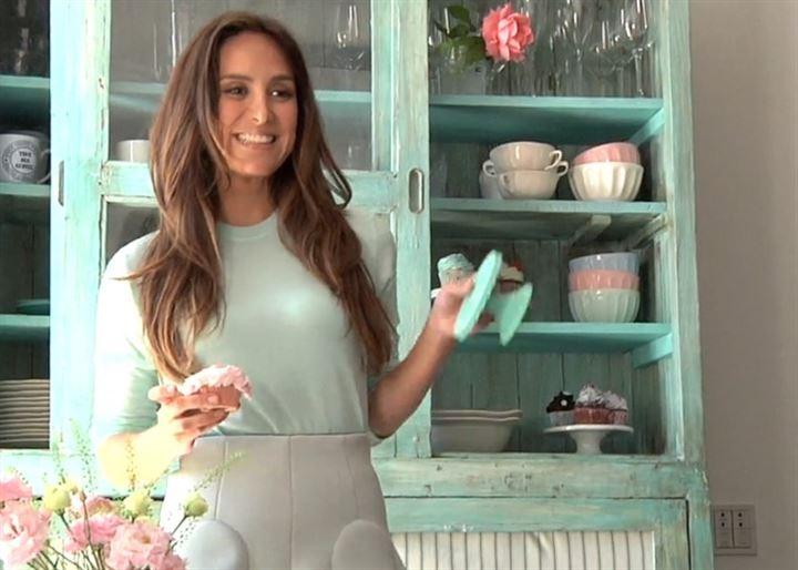 Tamara Falcó te enseña a hacer cupcakes