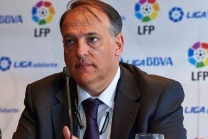 """Brotons se ceba con el presidente de la LFP: """"Tebas es un florero, sólo le faltaba el traje de faralaes porque la peineta va incorporada"""""""