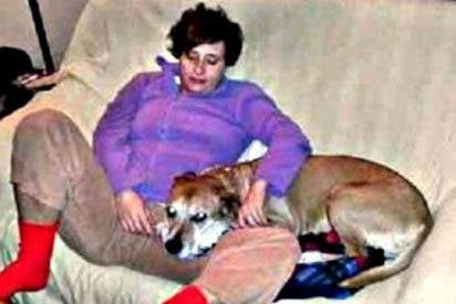 El marido de Teresa Romero clama venganza por la muerte de su perro Excalibur