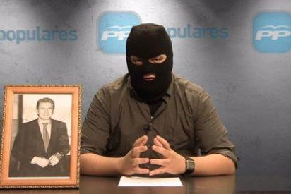 La vomitiva gracia de 'La Tuerka': un vídeo equipara al PP con ETA