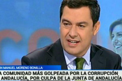 """Juanma Moreno: """"Que Pedro Sánchez baje a Andalucía y ponga orden en el partido de Susana Díaz"""""""
