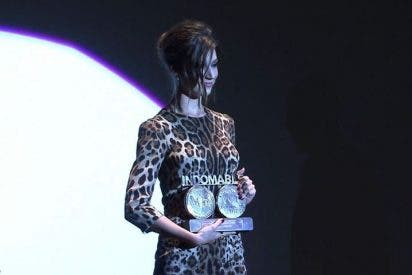 Úrsula Corberó premiada en el Festival de Sitges
