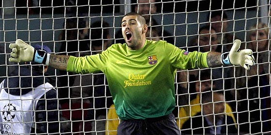 El Liverpool ya incluye a Valdés en su página web
