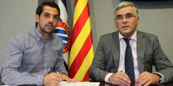 El Espanyol lo ata hasta 2018