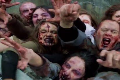 Un autobús aplasta a un joven que iba disfrazado de zombi y encima se lo toman a guasa