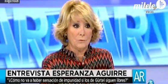 """Nuevo torpedo de Esperanza a Rajoy a cuenta de la corrupción: """"¡Pues claro que lo hemos hecho mal!"""""""