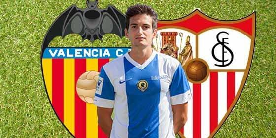 Sevilla y Valencia se pelean por el futbolista del Hércules