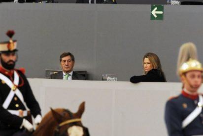 Alfonso Cortina y Miriam Lapique no se quisieron perder la Madrid Horse Week