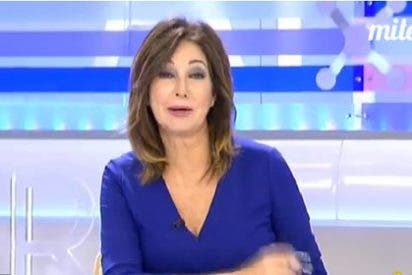 """Ana Rosa deja en fuera de juego a Podemos: """"¿Pero hace falta la EGB para jugar al fútbol?"""""""