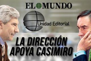 Casimiro tira a la papelera la Carta de Pedrojota, quien la publica en la Red, y corta definitivamente el cordón umbilical con el exdirector y fundador de El Mundo