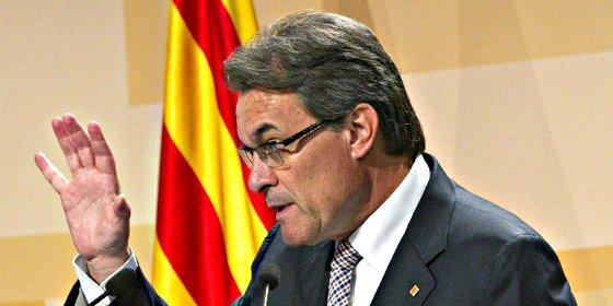 """Artur Mas sigue subido a la parra: """"Sólo avanzaré elecciones si son para hacer la consulta"""""""